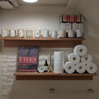 無印良品 壁に付けられる家具・棚・幅88cm・オーク材 幅88×奥...