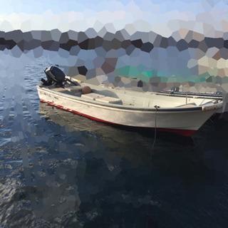 和船中古 ヤマハw19 4スト25馬力