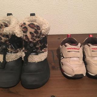 ニューバランスなどの子供靴