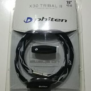 phiten X30 TRlBAL II 新品