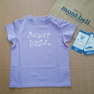 新品 モンベル Tシャツ ベビー キッズ 80cm