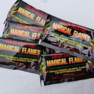 焚き火で7色の炎が出るマジカルフレイム(日本未発売)