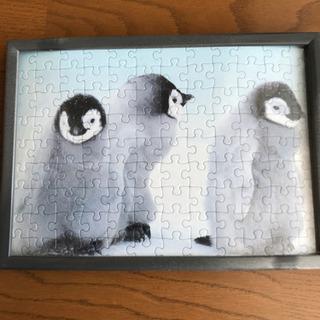 ペンギンパズル&額縁