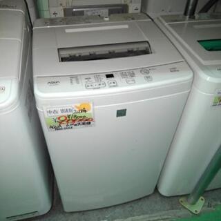 アクア 2018年製 6.0㎏洗濯機 AQW-S6E5