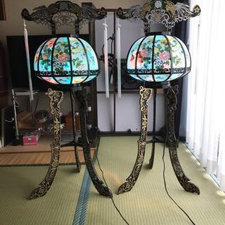 盆提灯 回転灯籠