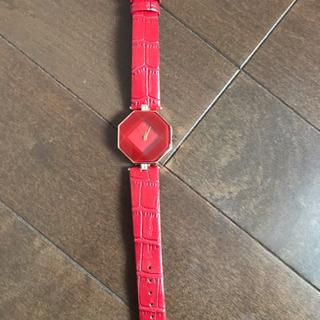 赤い腕時計【再値下げ  】
