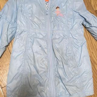 値下げ ミキハウス110センチ女児 冬用ジャケット