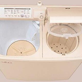 【未使用美品】HITACHI 二槽式自動洗濯機 青空 PA-T4...