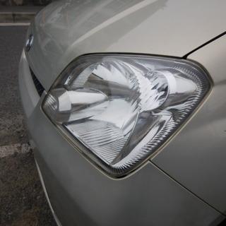 車検時のヘッドライト光量不足を解消  新車の輝き