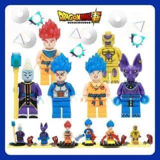 ★新品★日本未発売レア★かわいいレゴ人形(互換品)♪たくさん取り...