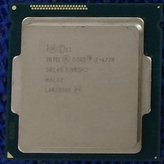 インテル Core i7 4770 CPUのみ