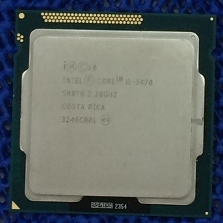 インテル Core i5 3470 CPUのみ