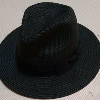 【新品同様】 UVカット付 帽子 レディース