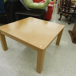 ニトリ こたつ 木製 ローテーブル 正方形 リバーシブル 座卓 ...