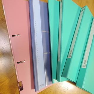 コクヨ A4 2穴ファイル 他 6冊セット