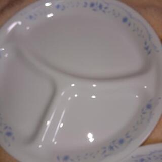 強化硝子大皿プレート  お値下げ‼️