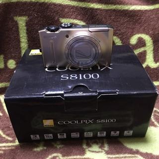 ニコン NIKON COOLPIX S8100 可動品 中古