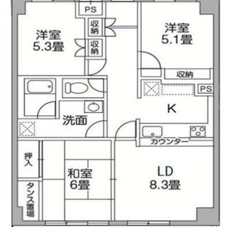 稲城 ★礼金敷金なし★フリーレント1ヶ月★駐車場フリーレント
