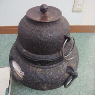 茶道の風呂釜