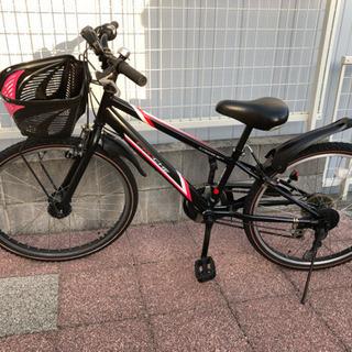 【商談中】自転車 24インチ 6段変速 LEDライト