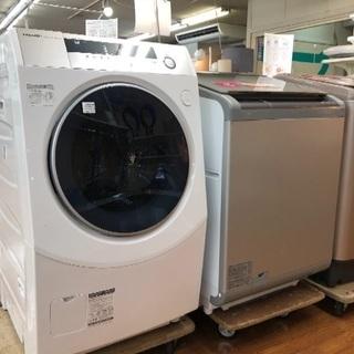 ドラム式洗濯機 シャープ 2018年モデル10.0kg容量 ES...