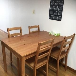 IKEAダイニングテーブル セット