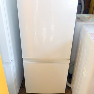 SHARP冷蔵庫 つけかえどっちもドア SJ-D14B-W 20...