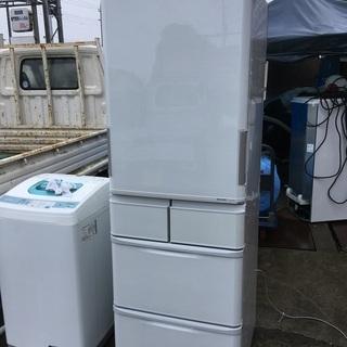 【中古】 SHARP シャープ SJ-PW42W-S 冷蔵庫 4...