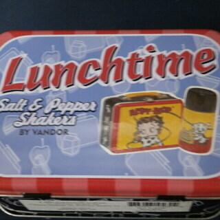 新品 ベティちゃん Lunchtime 調味料入れ