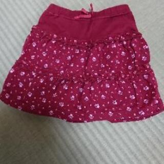おまとめ(15) 90cm スカート 小花柄