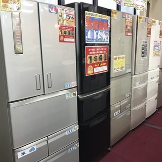大型冷蔵庫買い取ります。