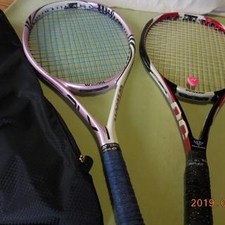 硬式テニスラケット!2本!商談中!