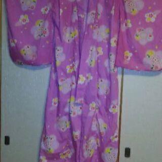 浴衣 女児 140 ピンク