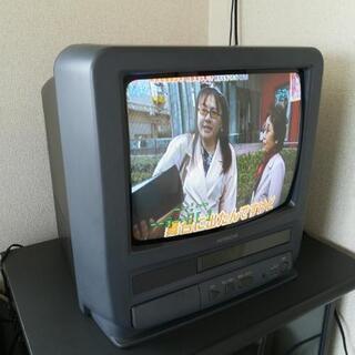 値下げしました☆テレビデオ 14インチ HITACHI