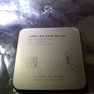 CPU AMD A8-5500 中古 動作確認済