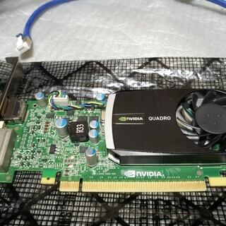 グラフィックボード Quadro400 中古 動作確認済