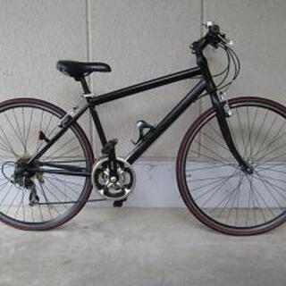 〔中古〕クロスバイク(700-28C・シマノ製21段変速)