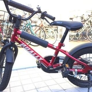 【良品】キッズ&ジュニア 自転車 DUALLY 洗車済 14インチ
