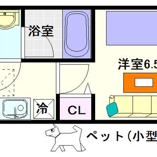 【スプランディッド難波Ⅱ】5号タイプ!1Kタイプ!猫もイケるで!!