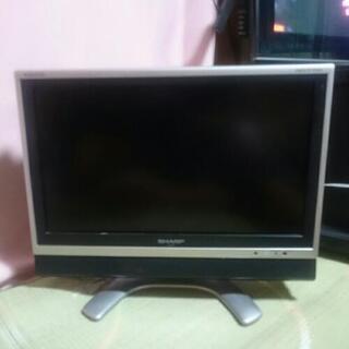 SHARPの昔のテレビ