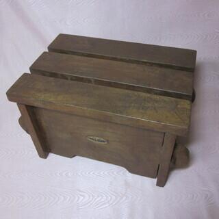 踏み台 収納 木製品