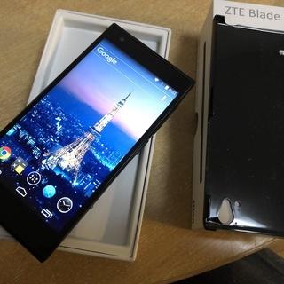 【再度募集】SIMフリースマホ ZTE Blade Vec 4G