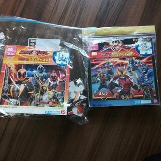 仮面ライダーパズル2種セット