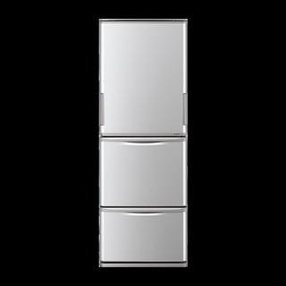 109、シャープ冷蔵庫350L、送料無料、消費税込み