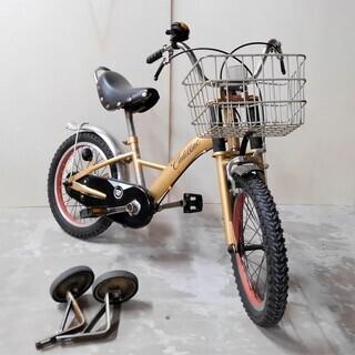 キャデラック 子供用自転車 極太タイヤ 16インチ