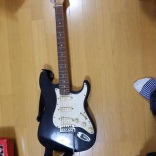 エレキギター 汚れあります。