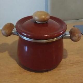 ホーロー鍋18cm