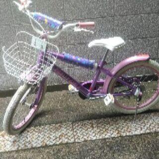 18インチの自転車です。