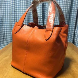 値下げしました‼️新品‼️和柄 ちりめん使いの 革バッグ