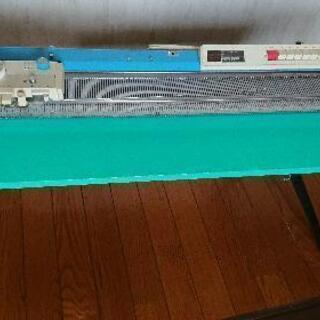 ブラザー編み機KH-588+ニットリーダー+編み台